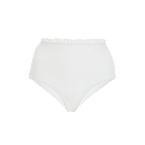 Capri high waist bikini briefs