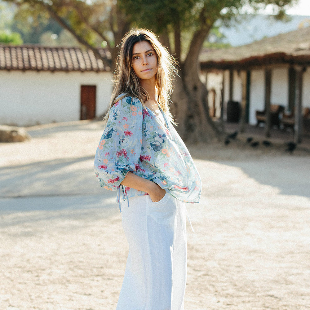 Capucine organic cotton blouse