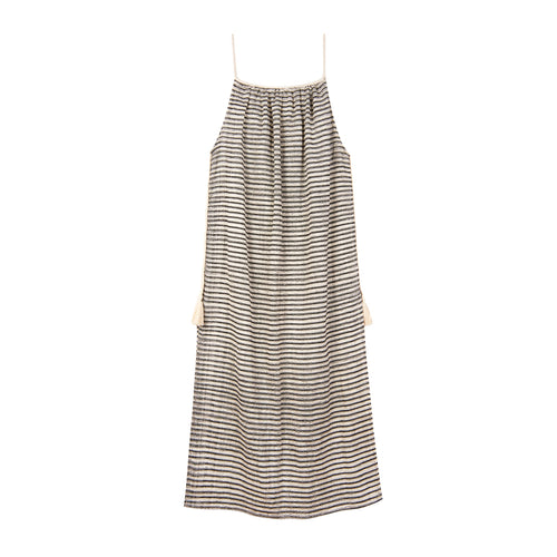 Delia handwoven cotton dress