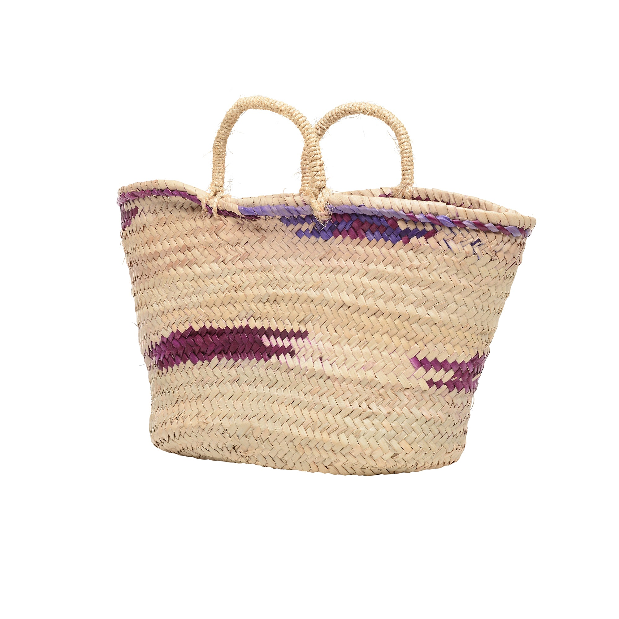 EXCLUSIVE petite Mallorcan basket in Grape