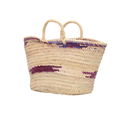 EXCLUSIVE petite basket in Grape