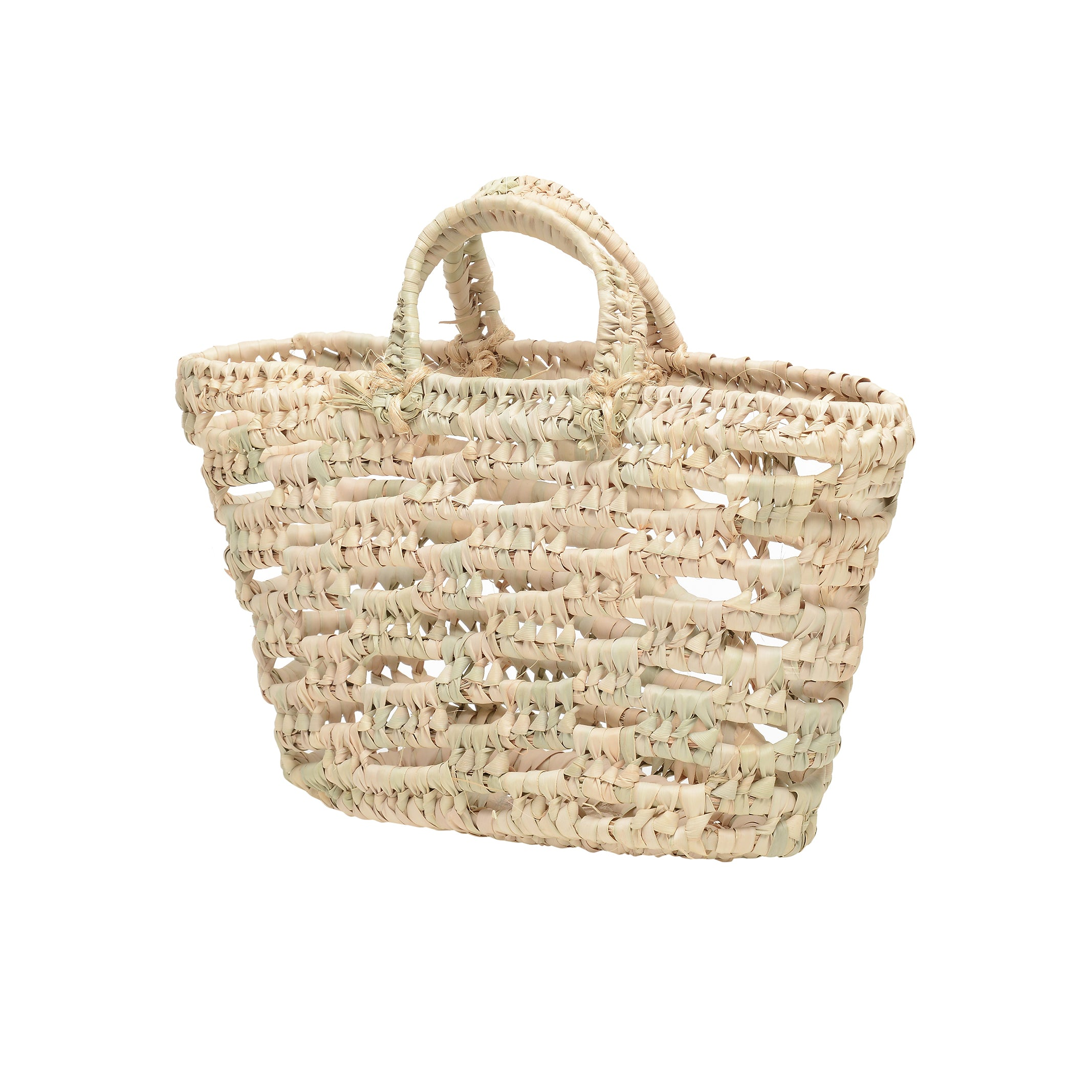 EXCLUSIVE small open weave Mallorcan tote