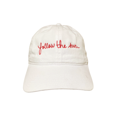 NEW! Follow The Sun dad cap