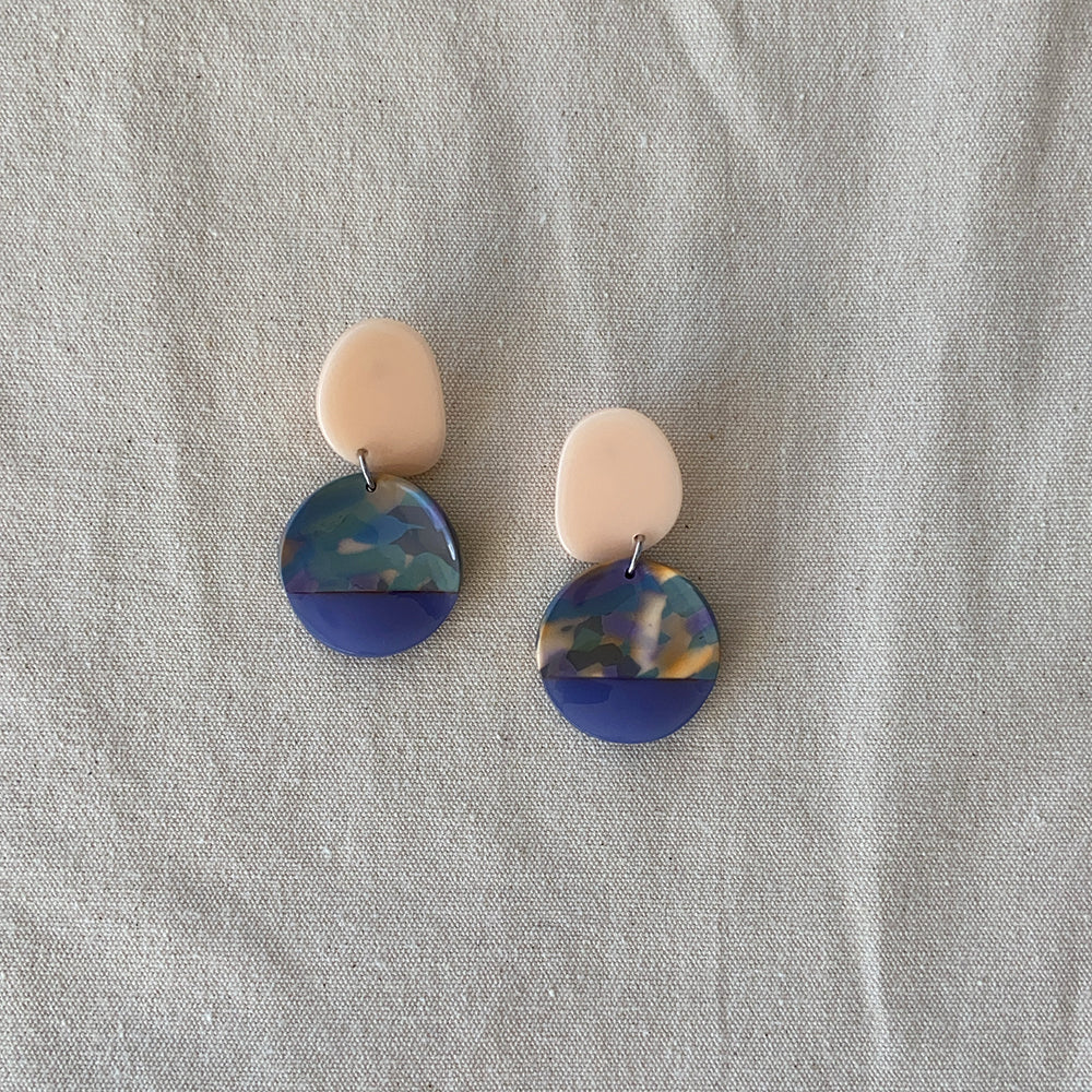 Gemma multi color earrings