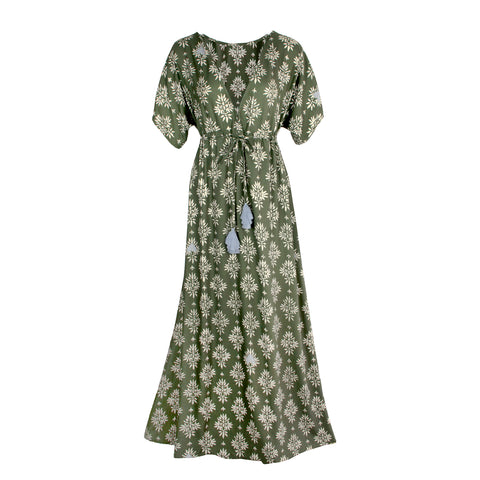 Flo cotton maxi dress