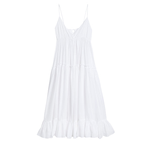 Scallop frill dress