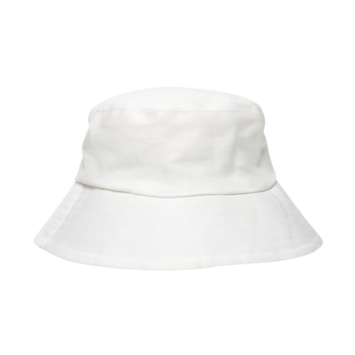 Cream Cotton Bucket Hat