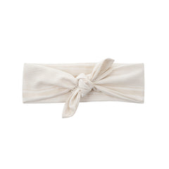 white striped vintage inspired headtie