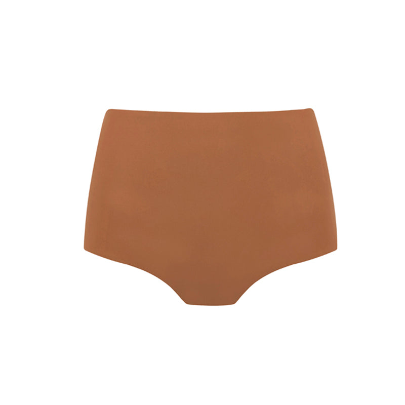 Matteau high waisted almond bikini bottoms
