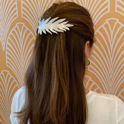 Large Leafy Hair Pin
