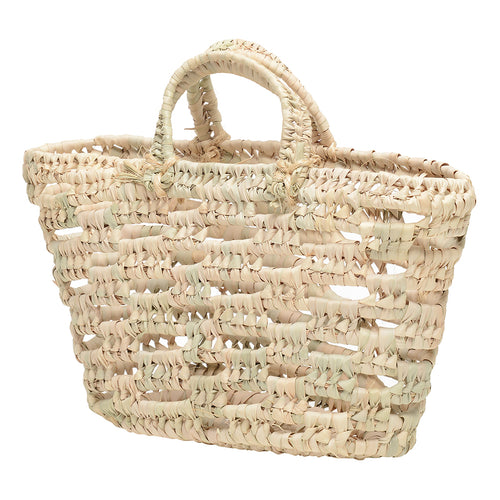EXCLUSIVE large open weave Mallorcan tote