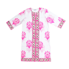 Long Kurta in pink