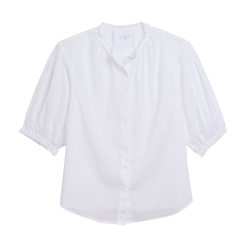 Pico Blouse in White