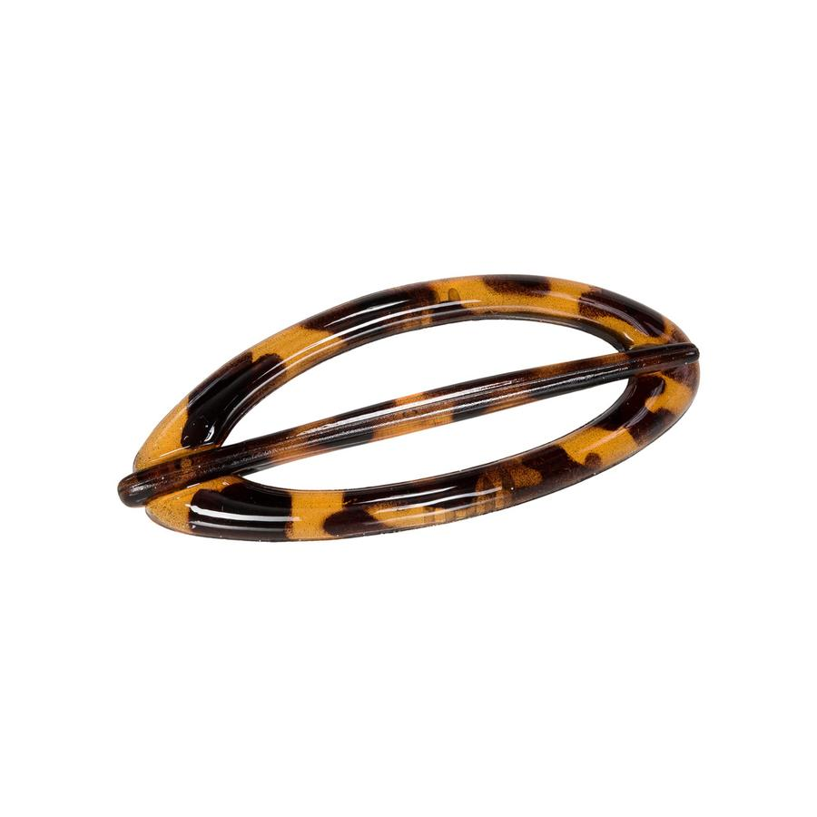 Tortoiseshell Oval Hair Pin