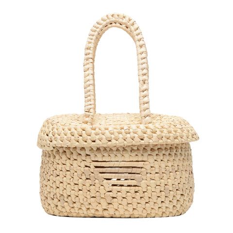 Cayana crochet bucket bag