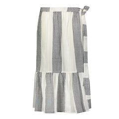 Selamawit cotton wrap skirt