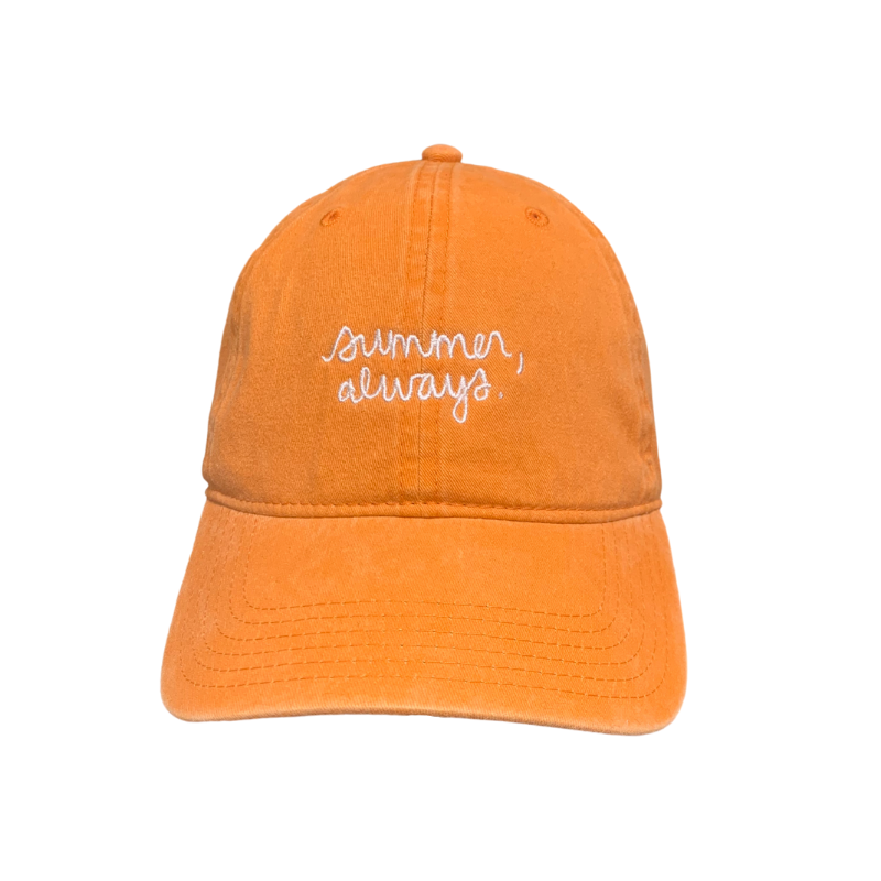 Summer, always dad cap