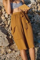 Tofo wrap skirt