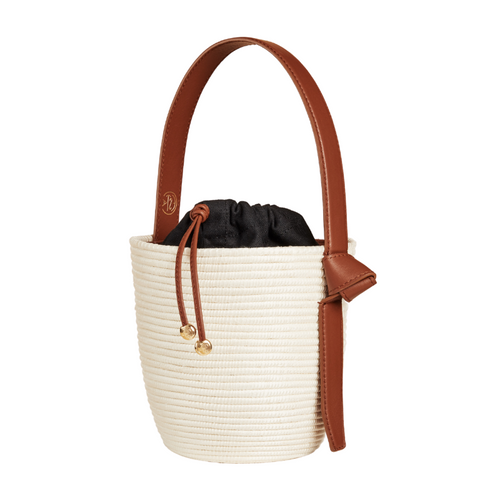 Tri Color Lunchpail basket bag