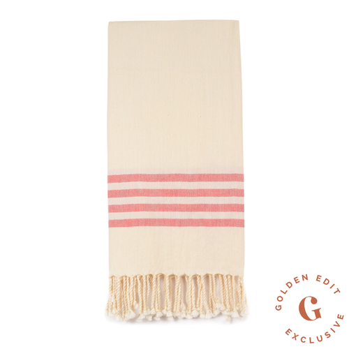 EXCLUSIVE Turkish beach towel in Watermelon