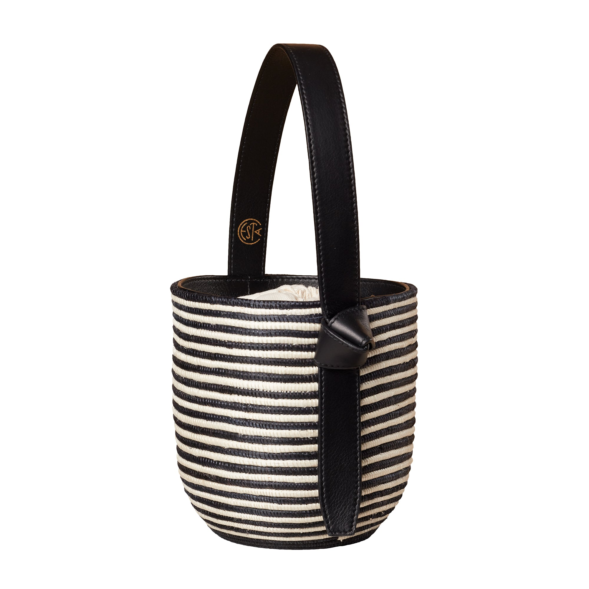 Zebra Lunchpail basket bag