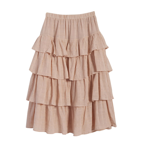 Poem tiered skirt