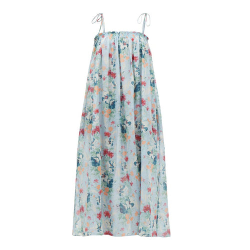 Rimini organic cotton silk sundress