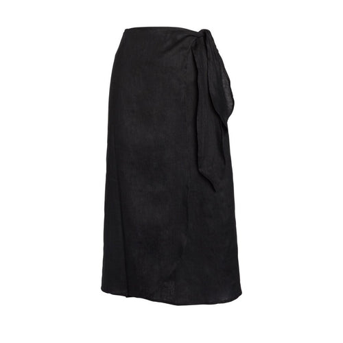Midi Pareo wrap skirt