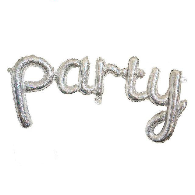 """Party"" Letter Balloon"
