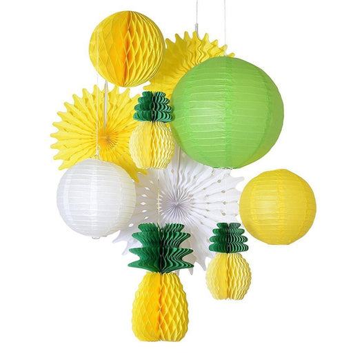 Summer Themed Pineapple Tropical Party Decorations