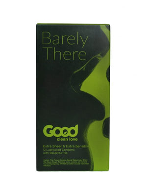 water-based extra sensitive condoms - Good Clean Love Barely There