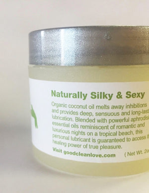 Organic Coconut Pleasure Balm: Tropical