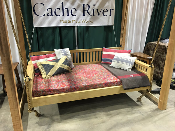 Cache River Mill Clarendon Bed Swing