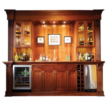 Grand Quincy Mahogany Bar