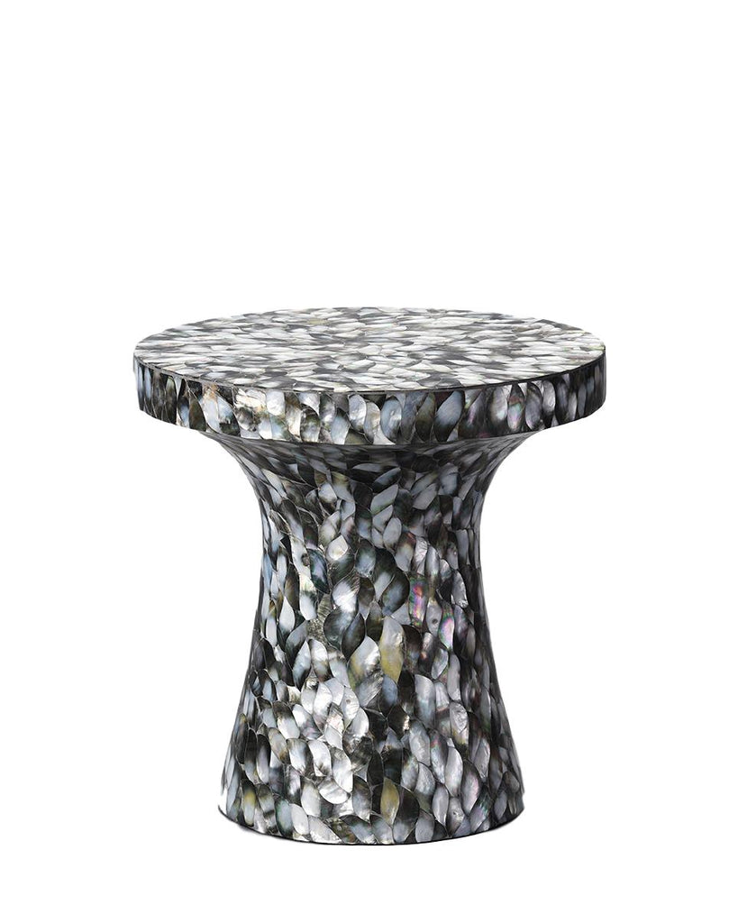Mother of Pearl Overlay Mushroom Table
