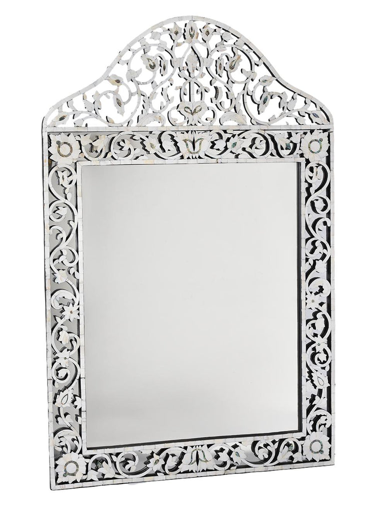 Mother of Pearl Overlay Taj Mirror -Large