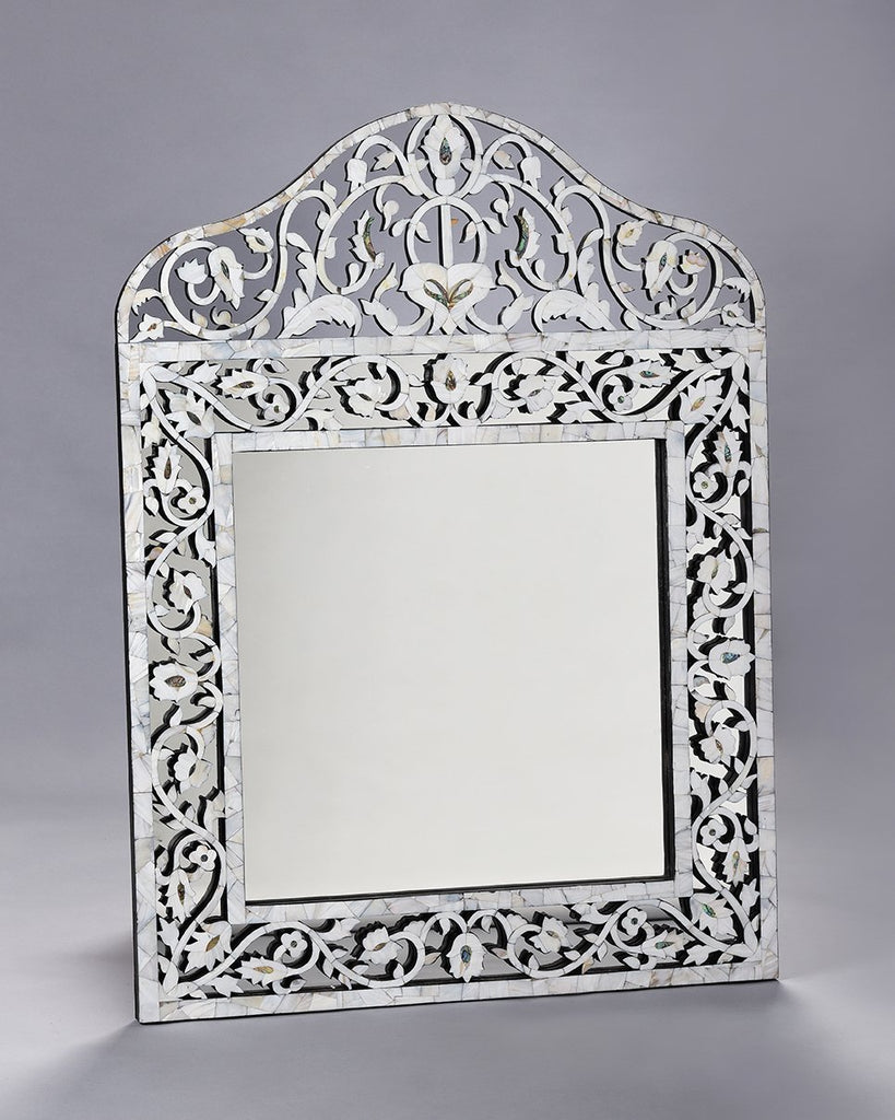 MOP overlay Taj Mirror by Mantra Furnishings