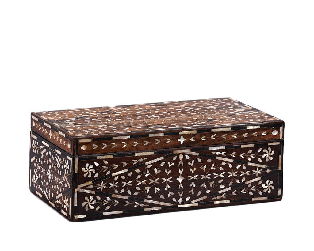 Mother of Pearl Inlaid Box - Medium