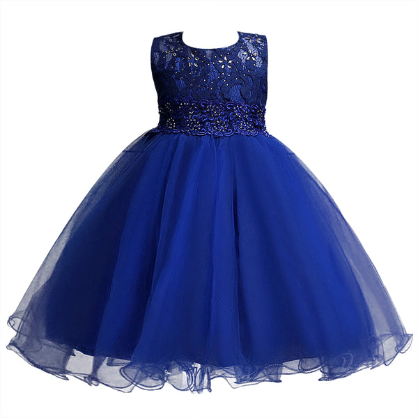 4-14Y Teenager Girls Dress Lace Ball Gown Girl Dress For Kids ...