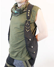 ABO-604 Dragon Scales Holster Vest