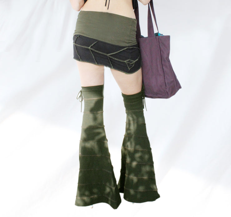 ALO-503 Bell Bottom Legwarmers