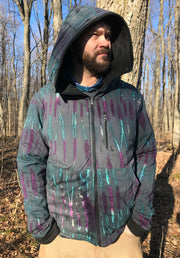MO-601 Galaxy Reversible Hooded Sweater