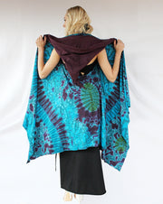 ROBE-502 Tie Dyed Pixie Robe