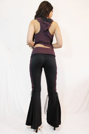 WPO-602A Solid Braided Bell Bottoms