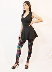 WPO-607 Tie Dyed Leggings
