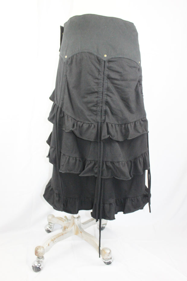 WSO-612 Steampunk Wrap Skirt