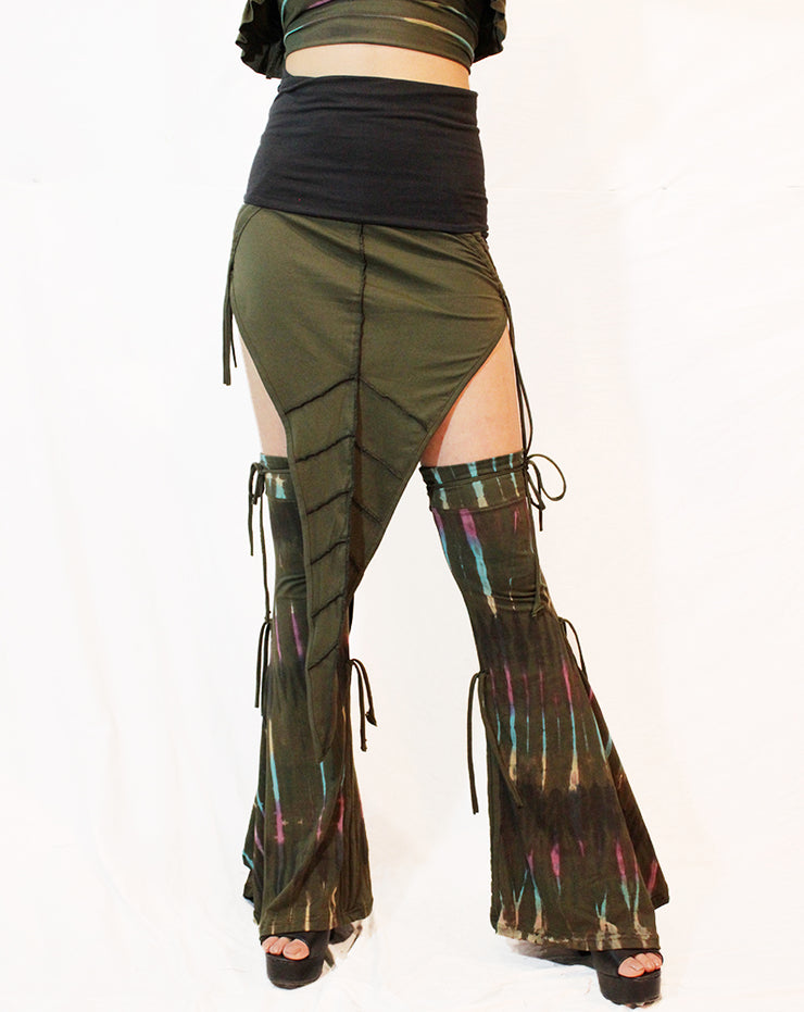 WSO-614 Tribal Double Leaf Skirt