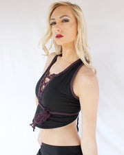 WTO-505 Crop Yoga Top ONLY ONE LEFT