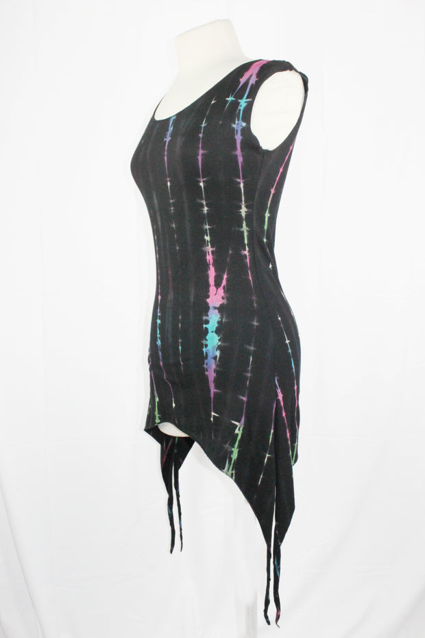 WTO-506B Tie Dyed Fairy Points Top