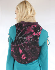WTO-509 Crop Vest with Flower of Life